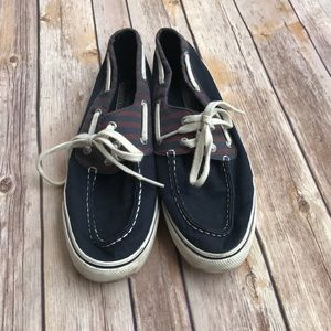 Sperry Top Sider Navy nautical boat shoes